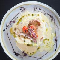 Steack de thon Mi-cuit à la plancha, légumes du moment